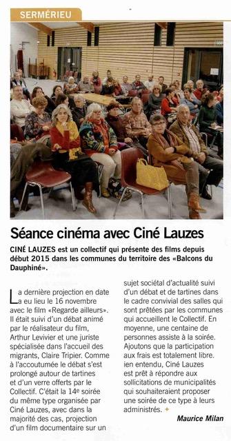 Ciné Lauzes - Le Courrier Liberté Le Mag